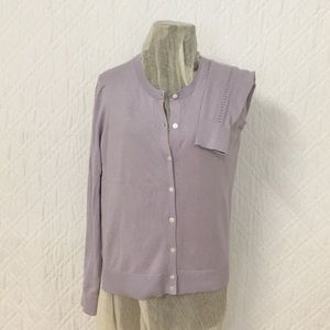 A New Day Sz M Cardigan Lavender
